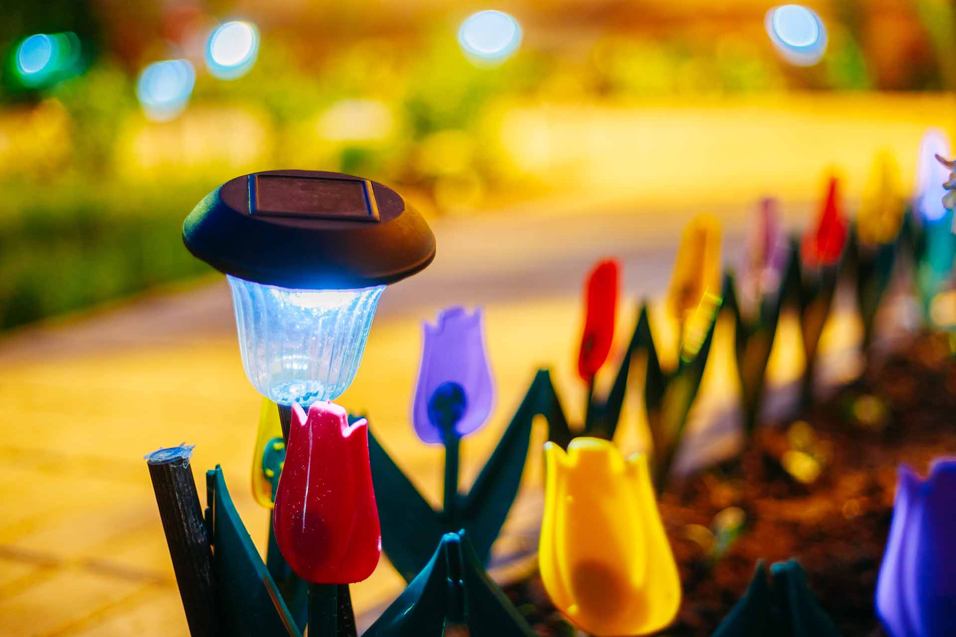 Types of landscaping lighting