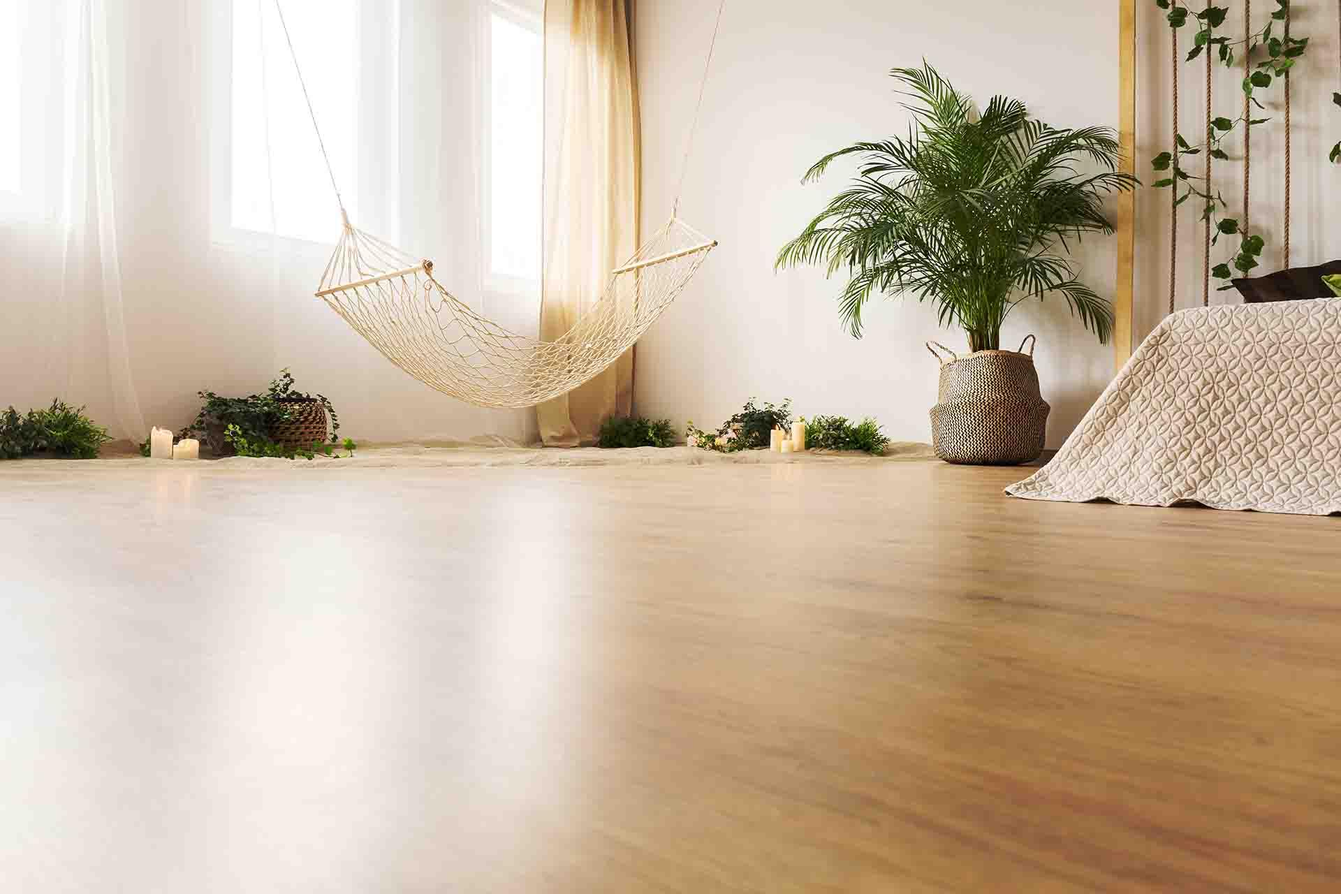 How often should I clean hardwood floors?